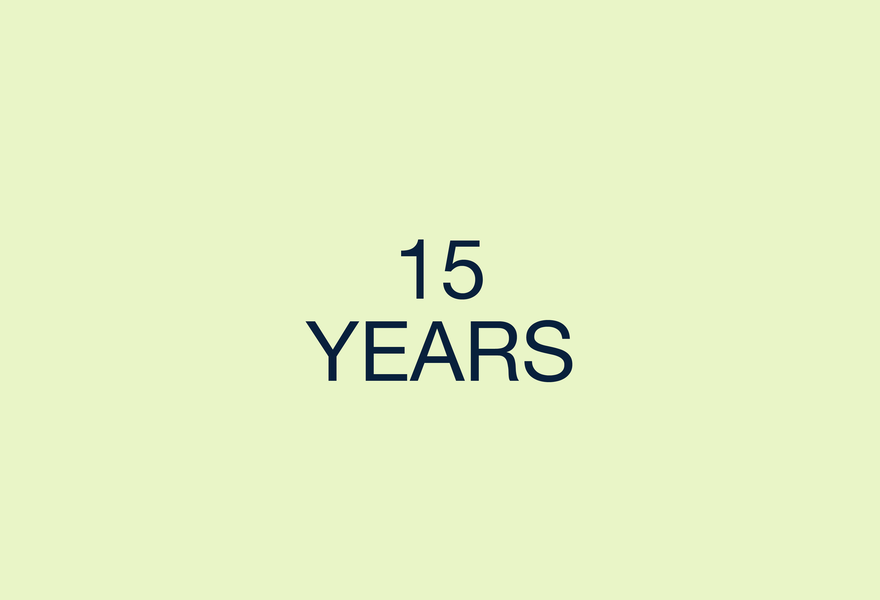 15 years video image