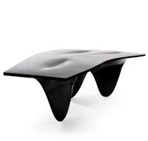 AQUA TABLE black high gloss 0012 Zaha Hadid c2005 Establishedand Sons c Peter Guenzel NEW WB 72dpi