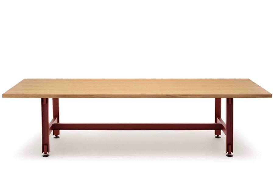 BEAM H740 red oxide I beam oak veneer c Konstantin Grcic NEW WB 72dpi