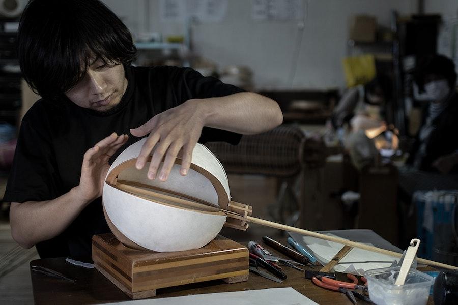 CHO LIGHT 11 Chochin Production Images c Rei Yoshizawa 72dpi
