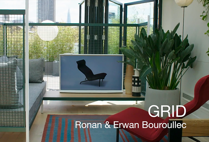 GRID c R E Bouroullec c2019 Establishedand Sons c Unique Media full length
