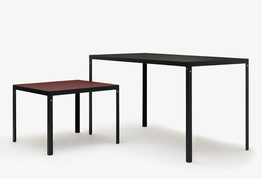 KD TABLE Konstantin Grcic Grey background