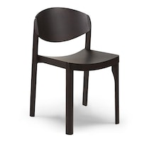 MAURO CHAIR ash wenge leather Mauro Pasquinelli c2018 Establishedand Sons c Peter Guenzel NEW WB 72dpi