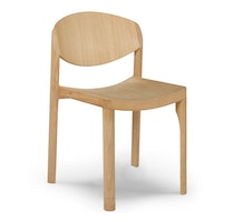 MAURO CHAIR oak waxed leather Mauro Pasquinelli c2018 Establishedand Sons c Peter Guenzel NEW WB 72dpi