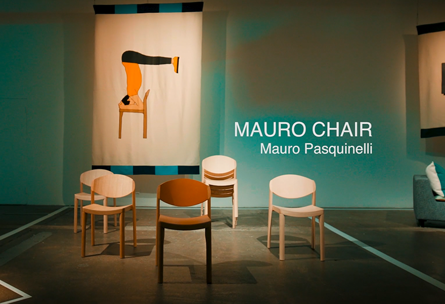 MAURO chair Mauro Pasquinelli c2018 Establishedand Sons c Ruth AJ Wilson and Matteo Cuzzola 20sec