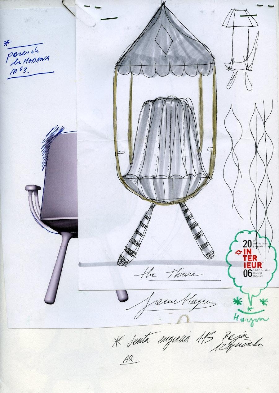 Page 14 15 401 Tudor Chair sketch