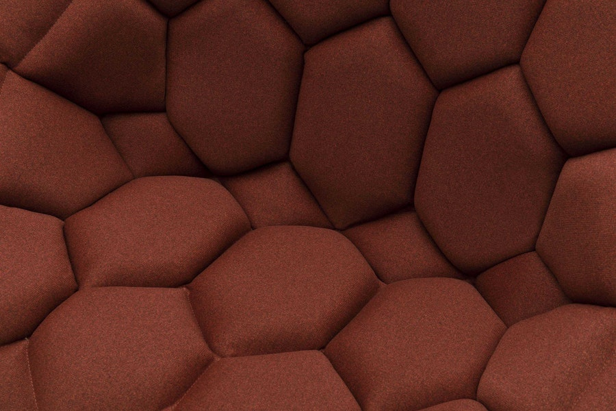 QUILT armchair Crevin 6343 R and E Bouroullec c2009 Establishedand Sons c James Chamption White Background Detail 01 72dpi