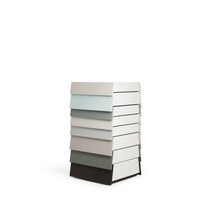 STACK 8 drawer neutral 1107 Raw Edges and Shay Alkalay c2008 Establishedand Sons c Peter Guenzel WB NEW 72dpi