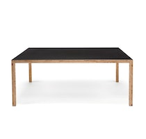 TABLE L1800 black linoleum 0650 Caruso St John c2008 Establishedand Sons c Peter Guenzel NEW WB 72dpi
