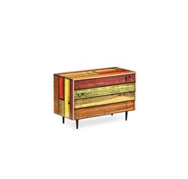 WRONGWOODS chest of drawers red with yellow 1060 R Woods and S Wrong c2007 Establishedand Sons c Peter Guenzel NEW WB 72dpi