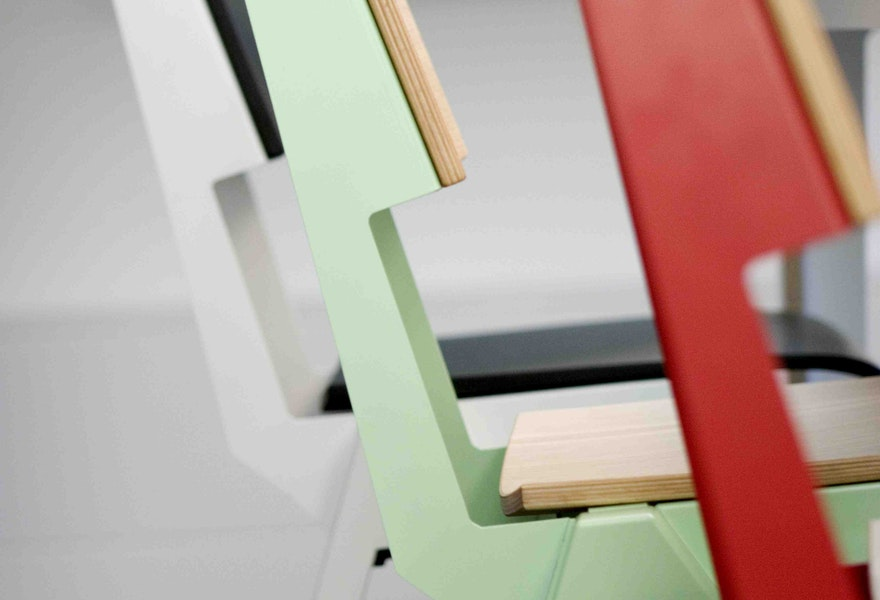 B detail of Uniform chair Established Sons